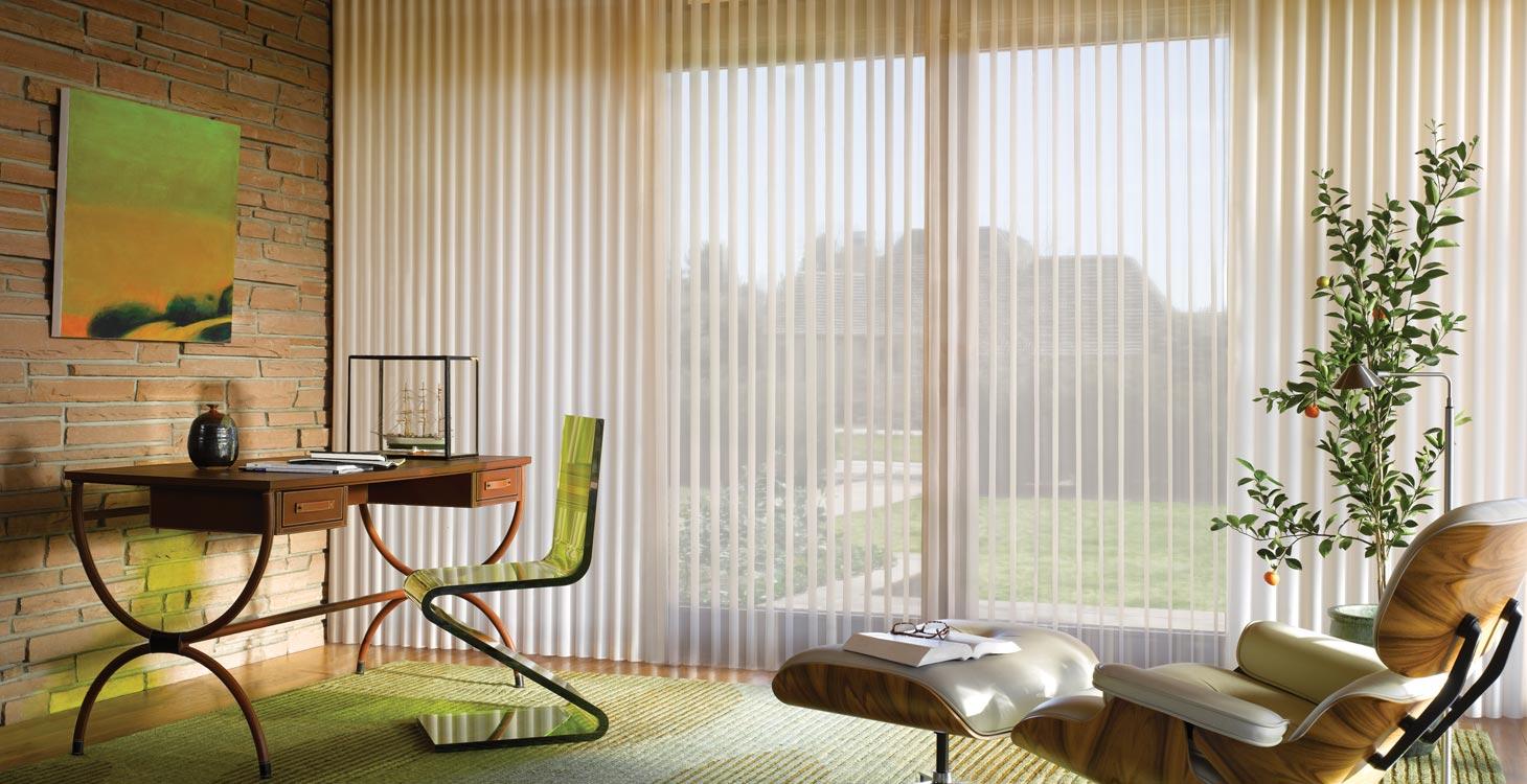 Hunter Douglas High End Window Coverings Luminette Blinds