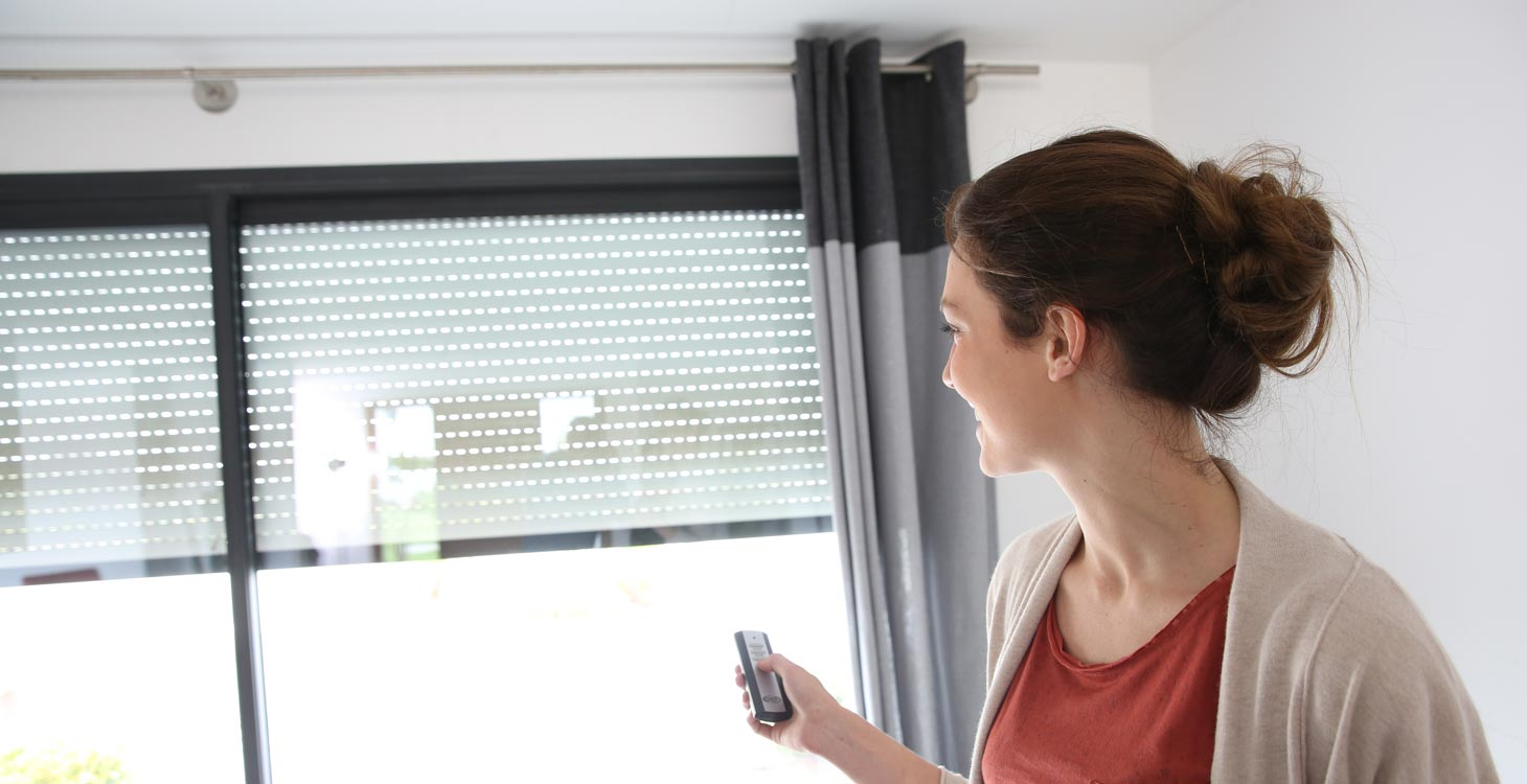 Bauhaus Waterloo Window Coverings Motorized Blinds