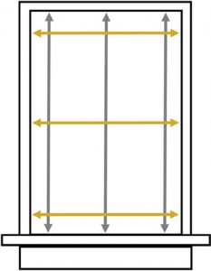 How to Measure for Inside Mount Window Coverings
